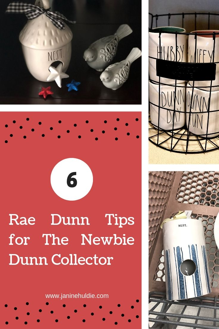 5 Rae Dunn Tips for the Newbie Dunn Collector