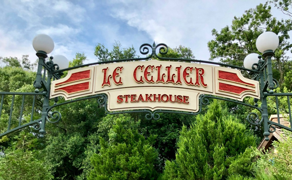 Le Cellier Steakhouse in the Epcot World Showcase in Canada