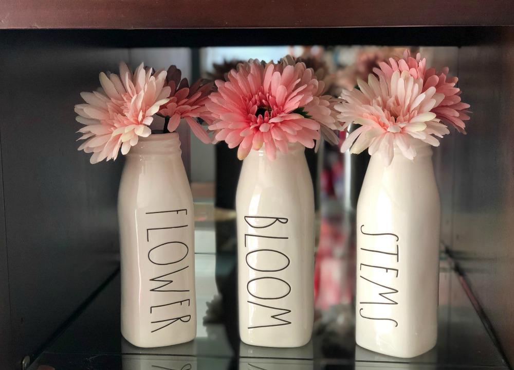 Rae Dunn Bloom Flower Stems Vases