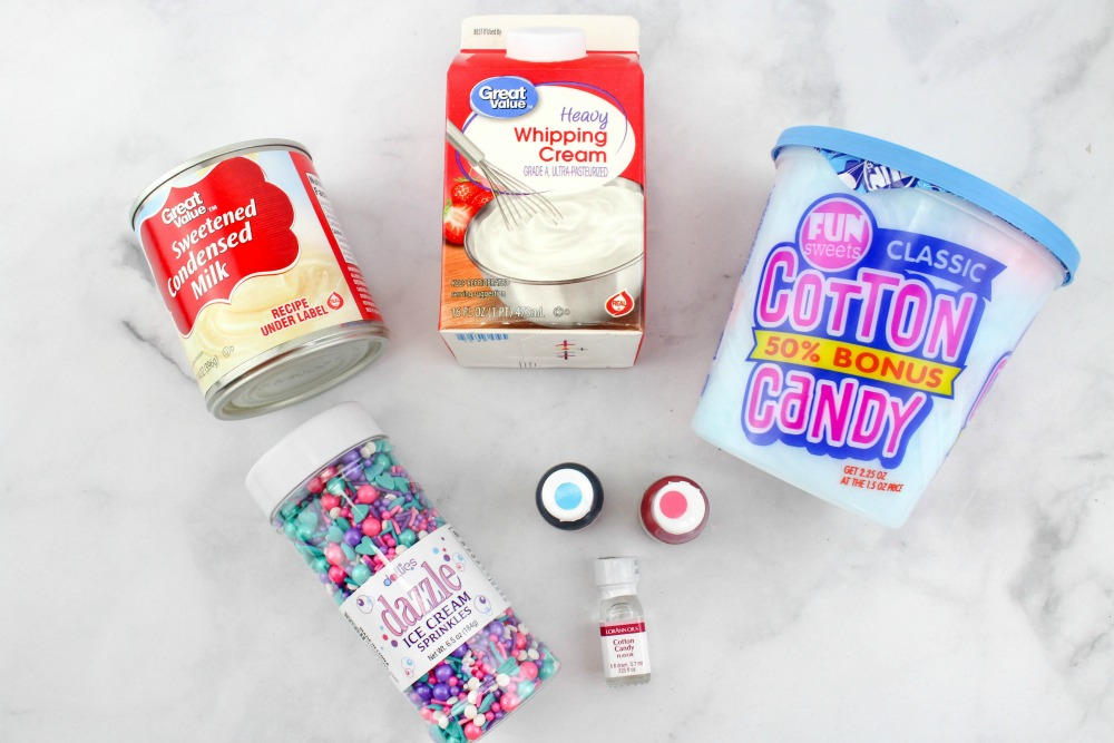 Cotton Candy Ice Cream Ingredients