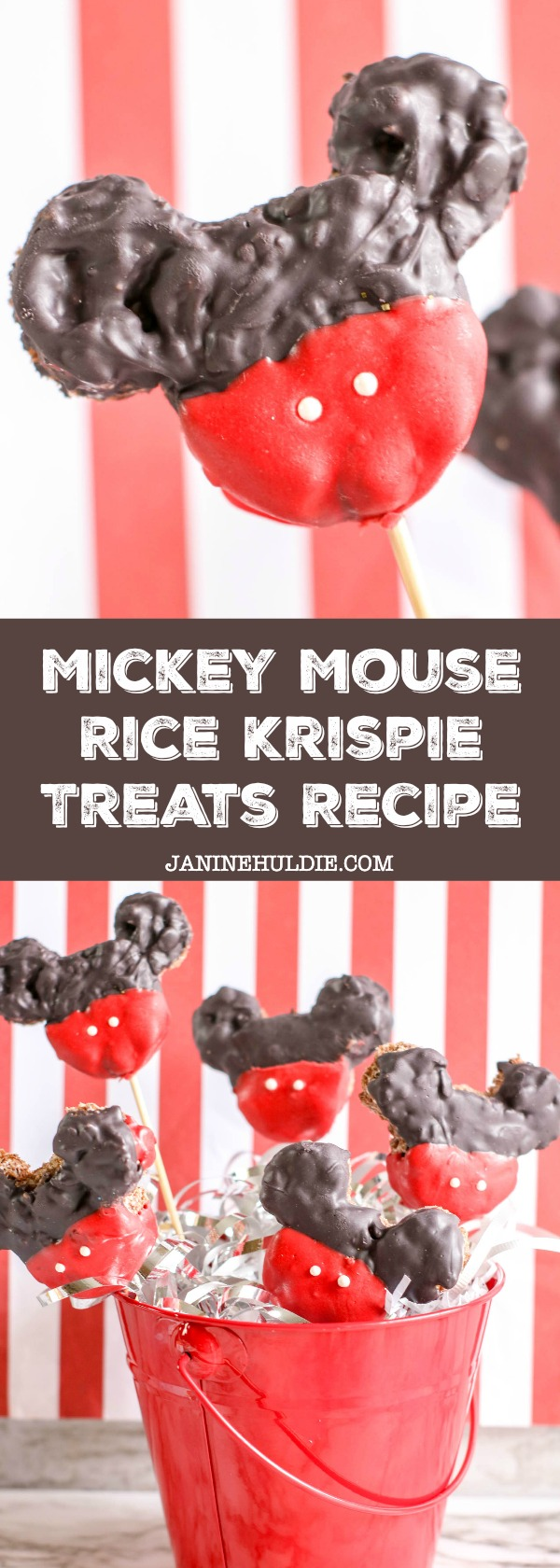 Mickey Mouse Rice Krispie Treats Recipe