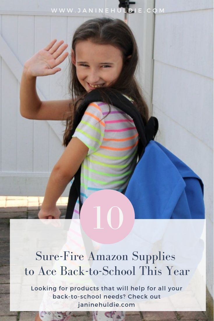 10 Sure-Fire Amazon Supplies to Ace Back-to-School This Year