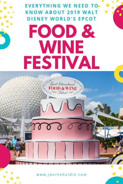 2019 Epcot Food and Wine Festival