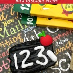 Chalkboard Rice Krispie Treats Recipe Tutorial For Back to School Fun