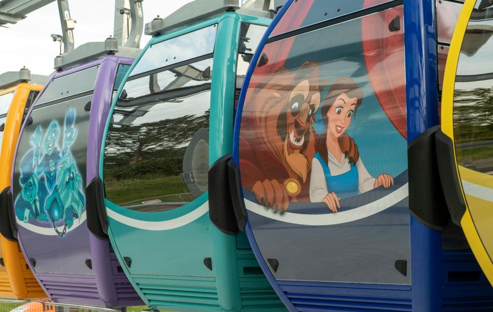 Disney Skyliner Beauty and the Beast