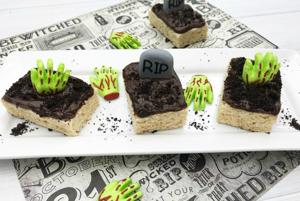 Graveyard Rice Krispie Treats Recipe Final 3