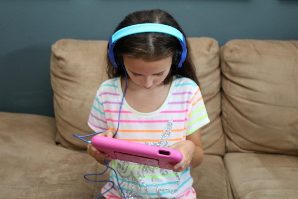 Playing on the Kids Kindle