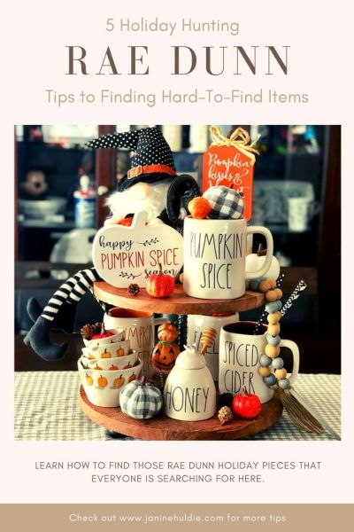 5 Rae Dunn Holiday Hunting Tips to Score Hard To Find Items