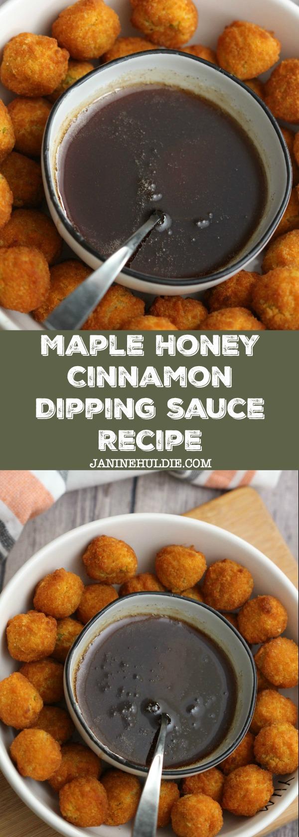 Maple Cinnamon Dipping Sauce Recipe