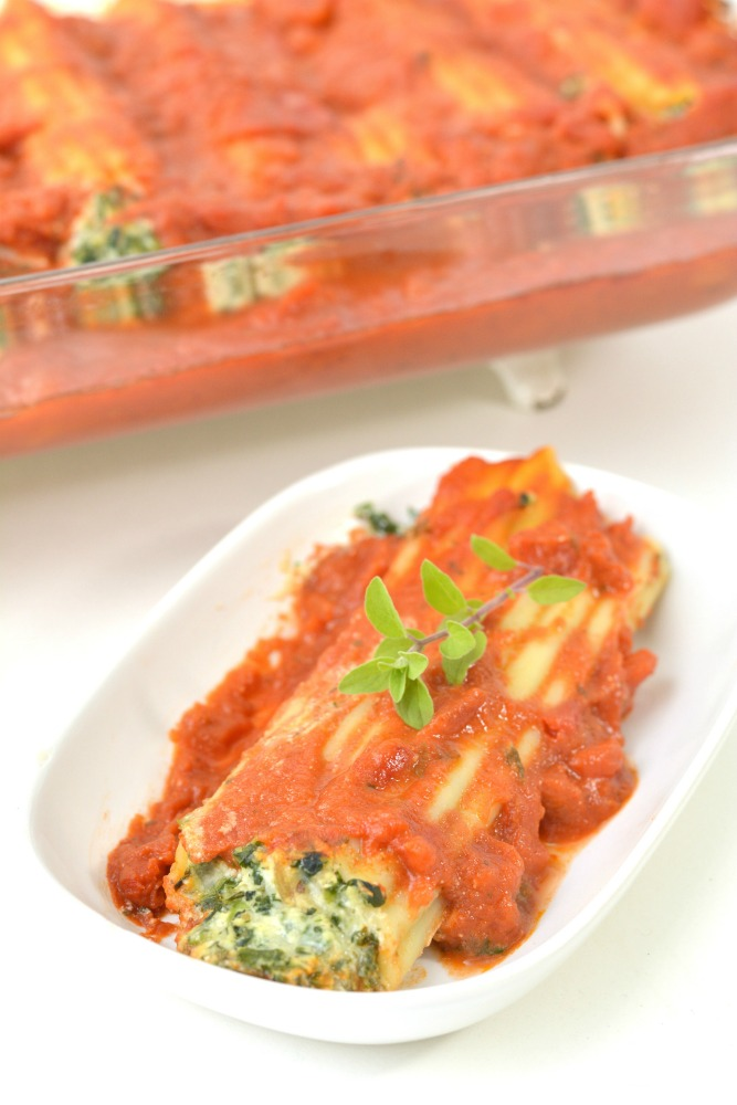Spinach and Ricotta Manicotti Recipe 4