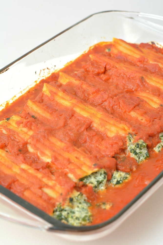 Spinach and Ricotta Manicotti Recipe Step 19