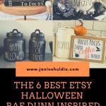 The 6 Best Etsy Halloween Rae Dunn Inspired Decor Finds