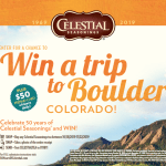 Celebrate 50 Years of Celestial Seasonings & Win Big!!!