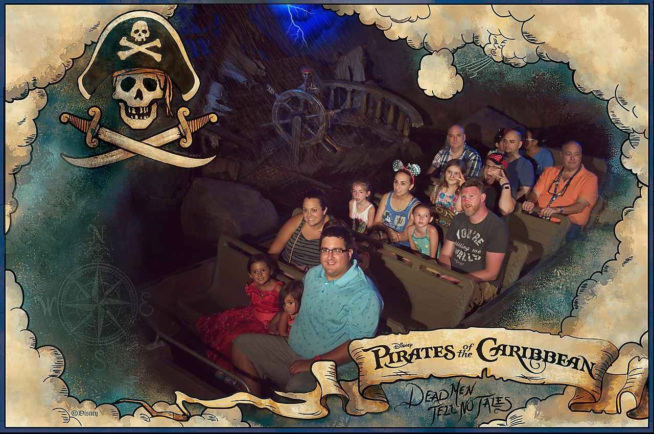 Pirates of the Caribbean Fastpass