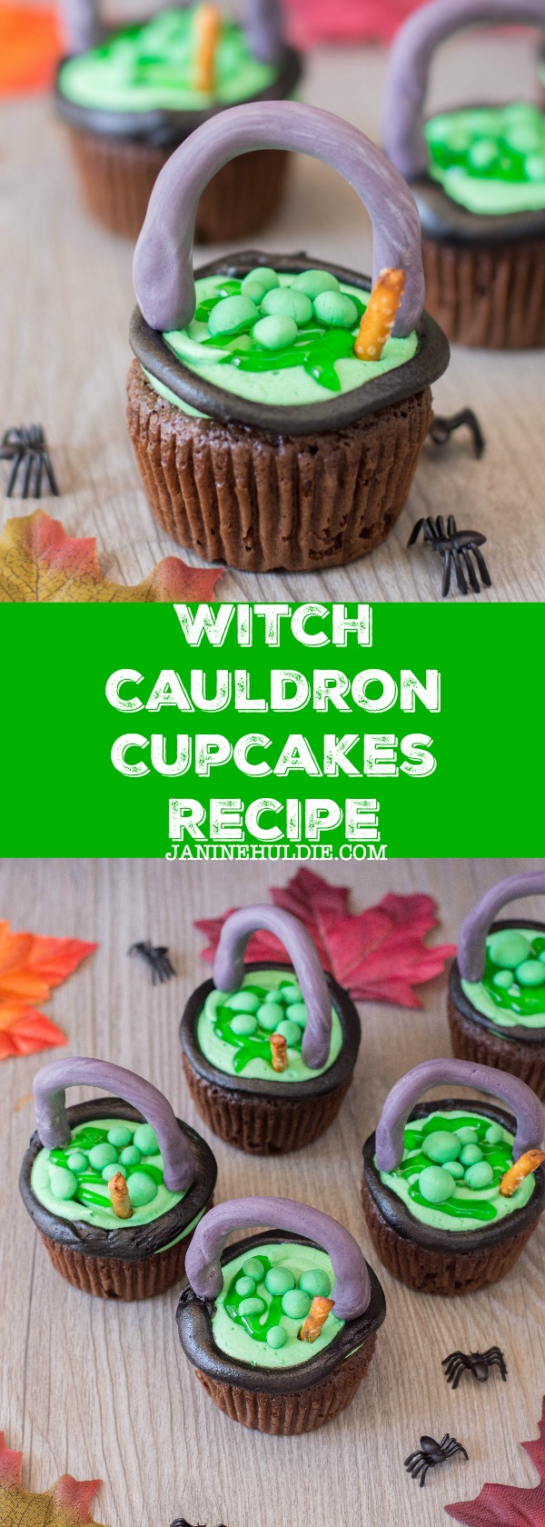 Witch Cauldron Cupcakes Recipe