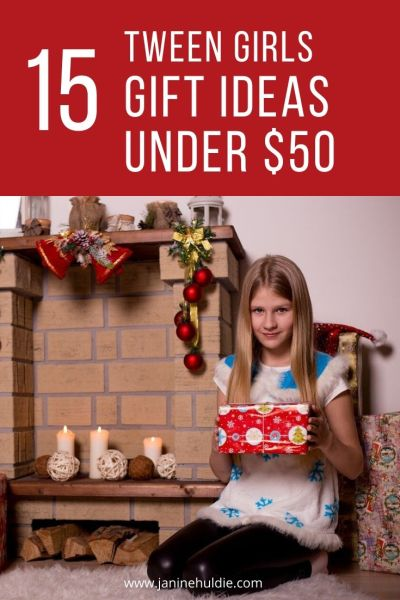 15 Tween Girls Gift Ideas Under 50