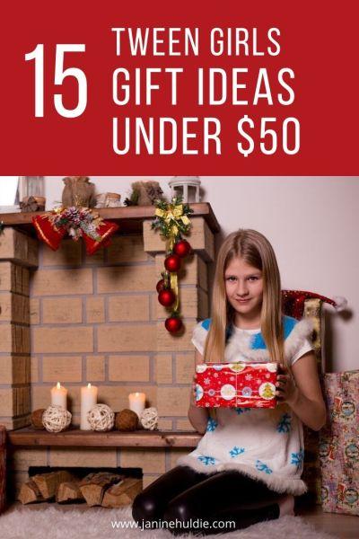 15 Tween Girls Gift Ideas Under 50