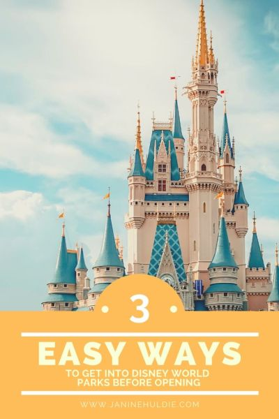 3 Easy Ways to Get Into Disney World Parks Before Opening