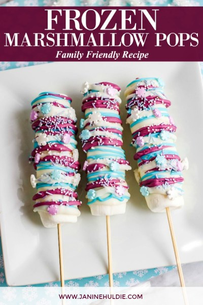 Frozen Marshmallow Pops Recipe Featured Image