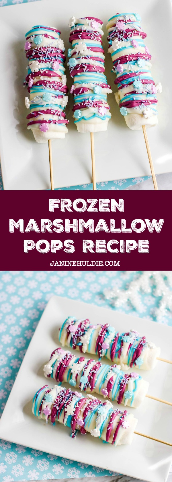 Frozen Marshmallow Pops Recipe