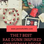 The Best Rae Dunn Farmhouse Inspired Online Christmas Handmade Items