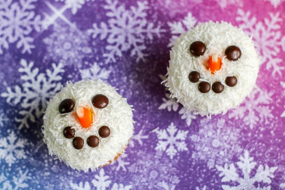 Snowman Cupcakes 3