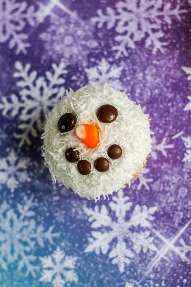 Snowman Cupcakes 5