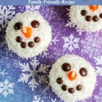 Snowman Cupcakes Recipe Tutorial