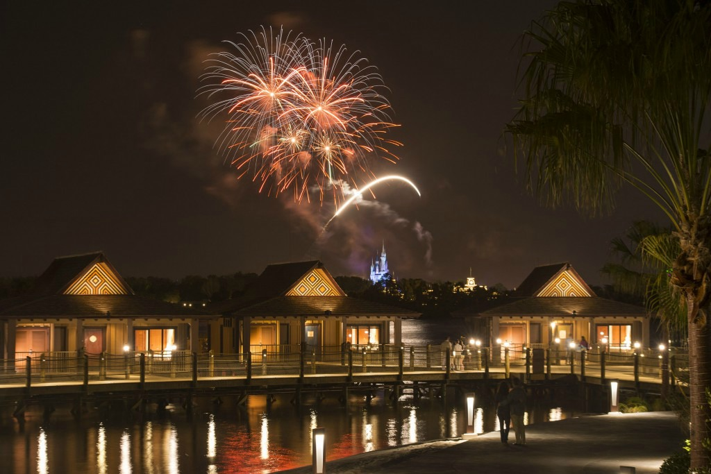 Happily Ever After Fireworks at Disney Polynesian Resort