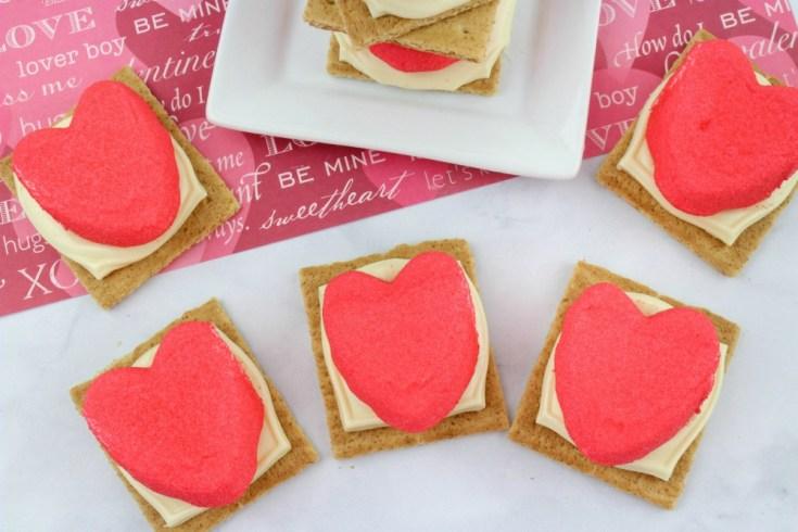 Valentine's Day Peeps S'mores