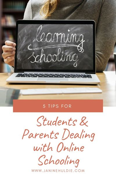 5 Tips for Students & Parents Dealing with Online Schooling