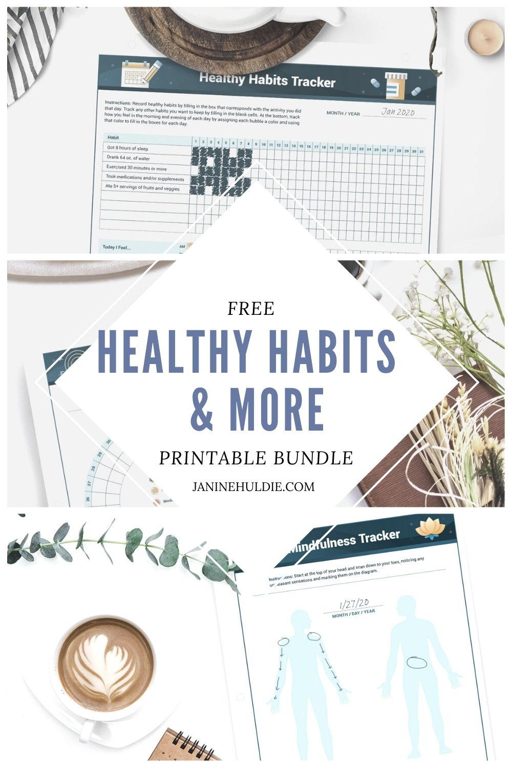 FREE Healthy Habits and More Printable Bundle