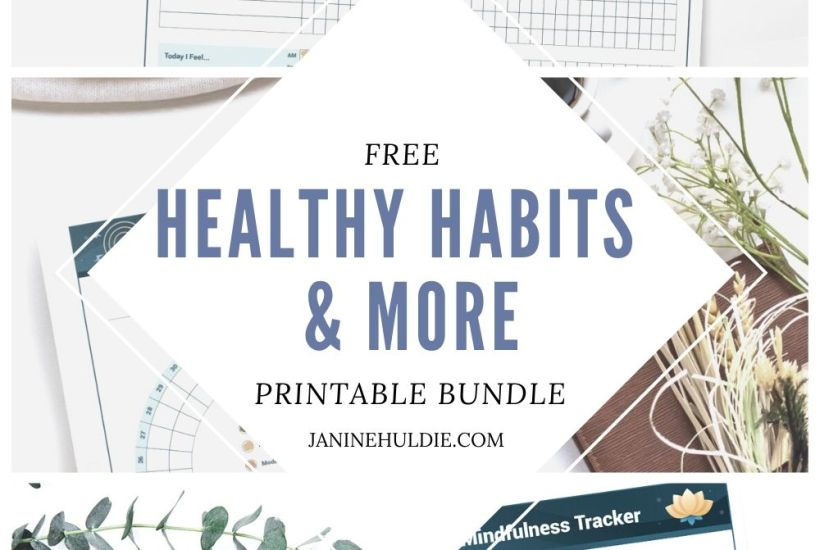 FREE Healthy Habits and More Printable Bundle