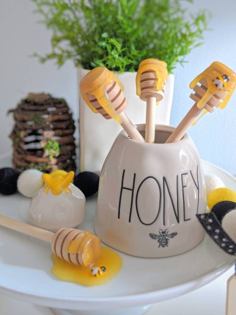 Faux Honey Dippers