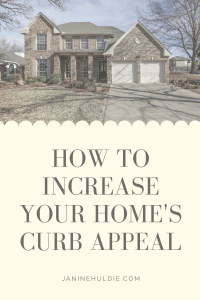 How to Increase Your Home's Curb Appeal