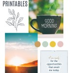 6 FREE Motivating Morning Mantras Printable Bundle Download
