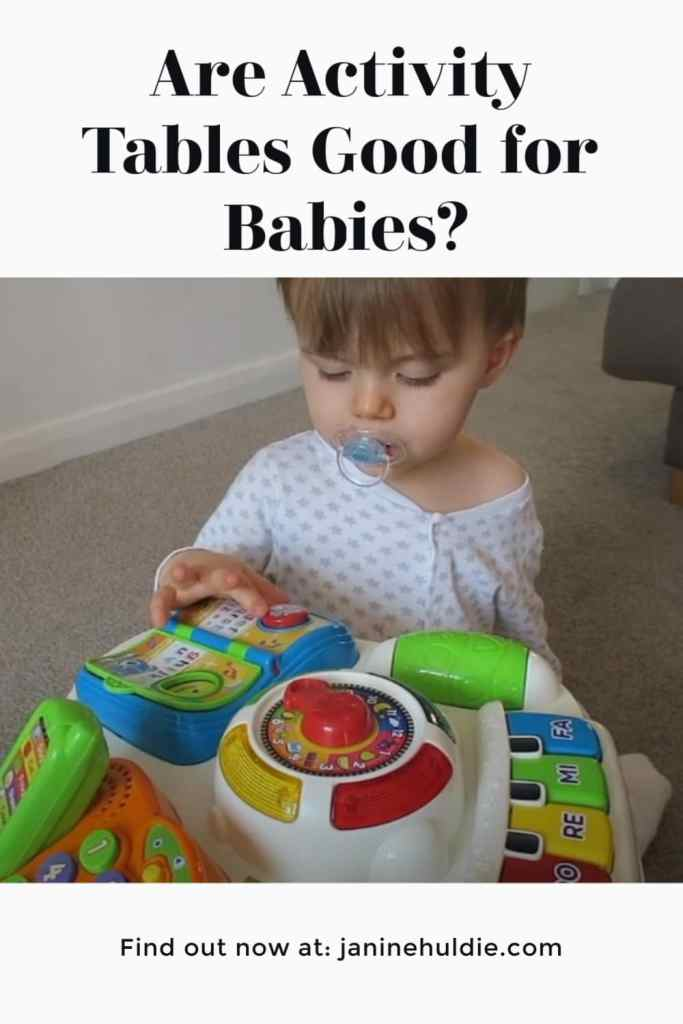 Activity Tables, This Mom's Confessions