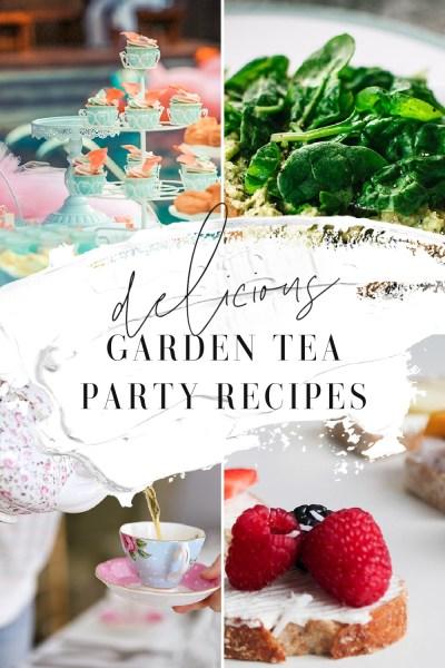 Garden Tea Party Recipes