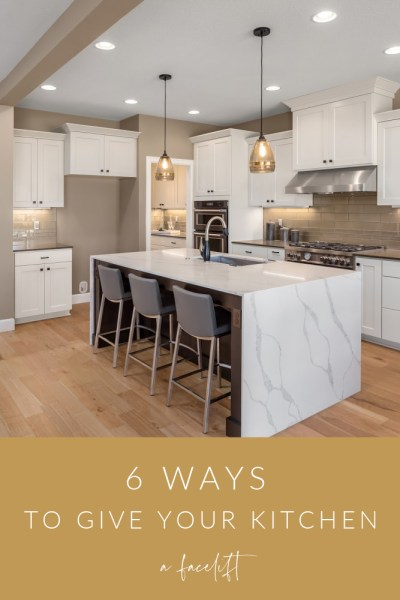 Ways to Give Kitchen a Facelift