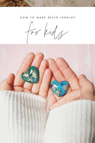 Resin Jewelry for Kids