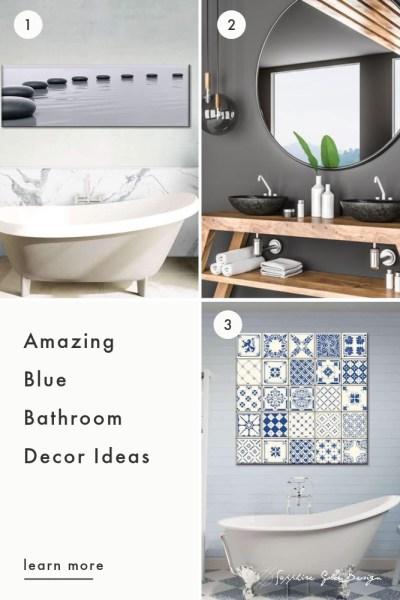 Blue Bathroom Decor Tips