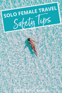 These travel safety tips for women will help you stay safe anywhere in the world. Check out this tried and tested advice from female travel bloggers before your next solo trip! #solotravel #femaletravel #travelsafety #traveltips #travel