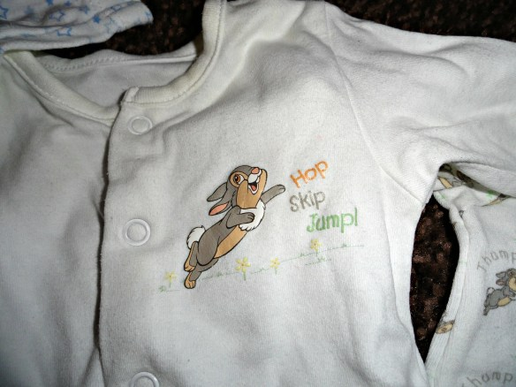 sleepsuit thumper disney