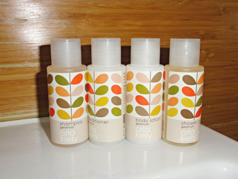 Megaro Hotel toiletries
