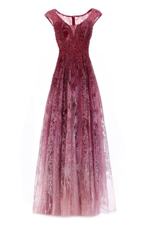 16211 ombre evening gown