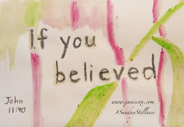 if-you-believed
