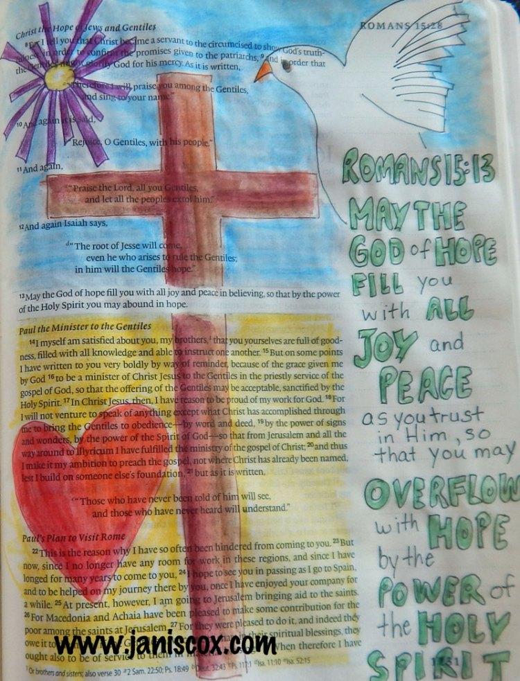 Joy and Peace - Romans 15:13