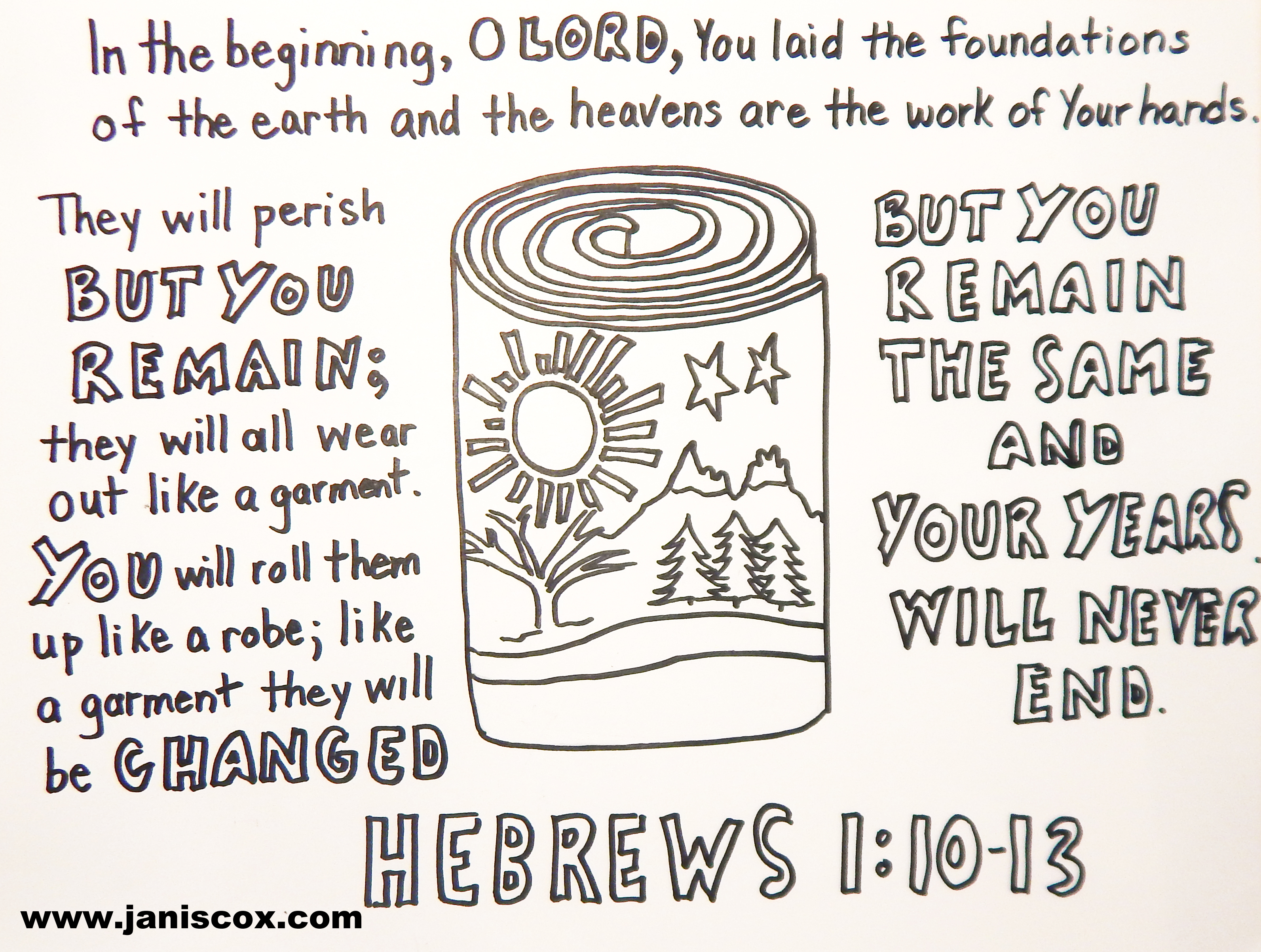 Hebrews 1:10-13