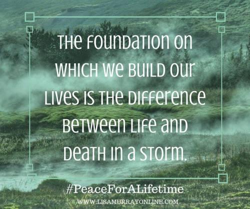 Peace for a Lifetime