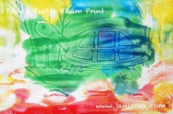 Foam Print Tadeo Turtle part 2